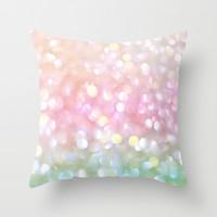 Sea Pearl Throw Pillow by Lisa Argyropoulos