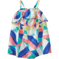 Geo 1-Piece Swimsuit