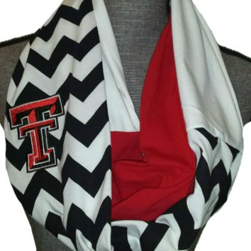 Texas Tech Infinity Scarf