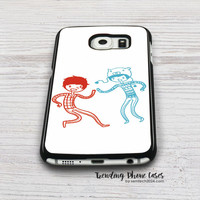 Amazingphil And Danisnotonfire Samsung Galaxy S6 Case Cover for S6 Edge S5 S4 Case