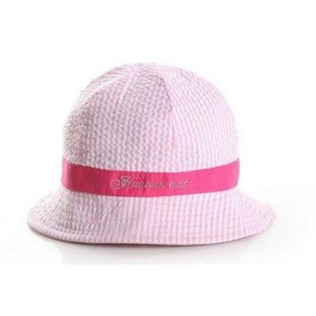 CUPUP9G Toddler Infant Kids Hats Newborn Sun Caps Baby Girl Boys Beach Bucket Hats