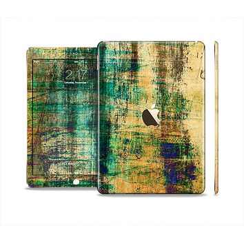 The Grungy Scratched Surface V3 Skin Set for the Apple iPad Air 2