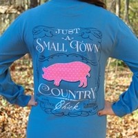 Long Sleeve Country Pig Tee