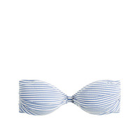 J.Crew Womens Seersucker Bandeau Top