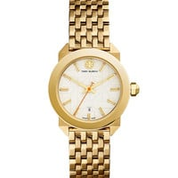 Whitney Golden Bracelet Strap Watch, Ivory