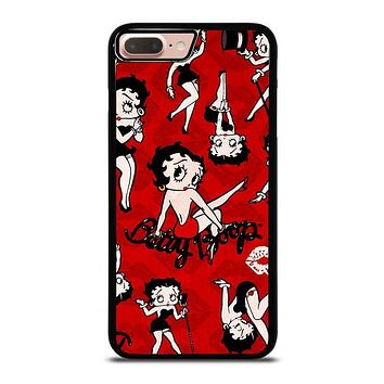 BETTY BOOP COLLAGE iPhone 8 Plus Case Cover