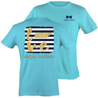 "Simply Southern ""Preppy Tennessee"" T-shirt 2X"