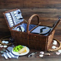 Cod Wicker Picnic Basket