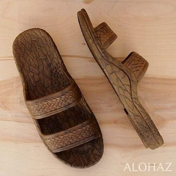 light brown classic jandals® -  pali hawaii Jesus sandals