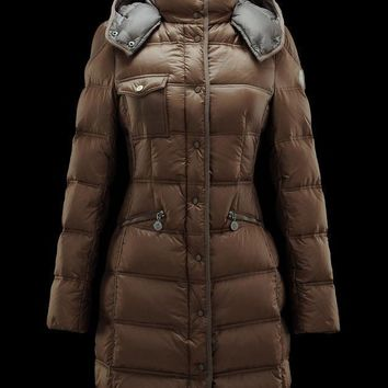 Moncler Flammette Long Puffer Jacket