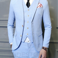 Cohen Slim Three Piece Suit
