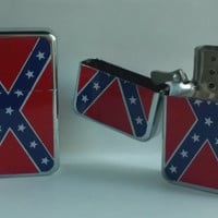 Confederate Rebel Flag Lighter