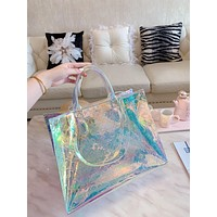 shosouvenir Louis Vuitton LV  Transparent Bag Handbag Single Shoulder Bag