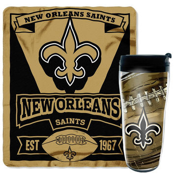 New Orleans Saints Mug 'N Snug Set