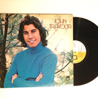 FALL SALE John Travolta Self Titled Vinyl Record 1976 Disco Funk It Had To Be You LP Album Rainbows