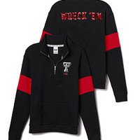 Texas Tech Bling Half-Zip Pullover - PINK - Victoria's Secret