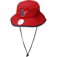 New Era Houston Texans Team Bucket Hat - Red - http://www.shareasale.com/m-pr.cfm?merchantID=29081&userID=1042934&productID=549284762 / Houston Texans