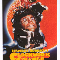 Clockwork Orange Stanley Kubrick Movie Poster 24x36