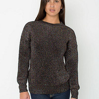 Unisex Metallic Fisherman's Pullover | American Apparel