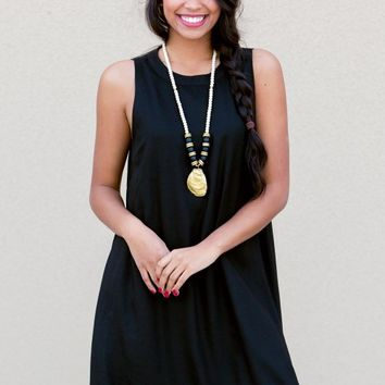 Cruz Dress in Black | Monday Dress Boutique