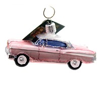 Old World Christmas 57 CHEVY Glass Ornament Vintage Car 46023