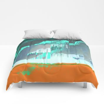 RAIN on the FOREST Comforters by DuckyB