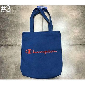 Champion men's and women's canvas shoulder bag diagonal handbag F-Great Me Store #3