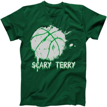 Scary Terry Basketball Bloody Splatter T-Shirt | TeeShirtPalace