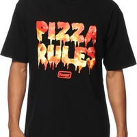Booger Kids Pizza Rules T-Shirt