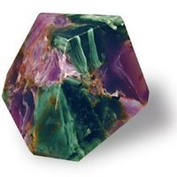 TS Pink Azurite Malachite SoapRocks - Soap that looks like a Rock ~ 6 oz. Gem Rocks Birthstone Jabón Gemstone