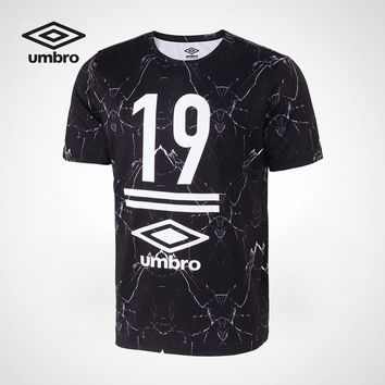 Umbro Summer 2018New Men Sports Short Sleeved Shirt Sportswear quality cotton short sleeves men tshirt UCC63043