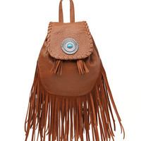 With Love From CA Mini Fringe Backpack at PacSun.com