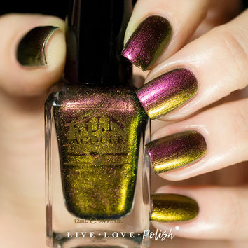FUN Lacquer Poinsettia Nail Polish
