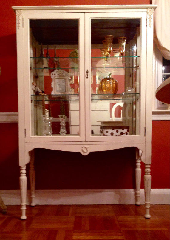 Vintage 1040's China Cabinet Hand From ColorfulHomeDesigns On