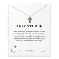 adventurer totem pole necklace, sterling silver