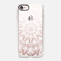 White Lace iPhone 7 Capa by Li Zamperini Art | Casetify