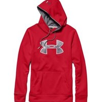 Under Armour Big Logo Storm Hoodie for Men in Red 1248321-601