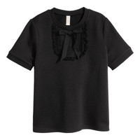 Short-sleeved Sweatshirt - from H&M
