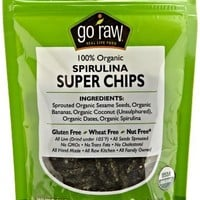 Go Raw Sweet Spirulina Sprouted Bites, 3 oz (6 Count)