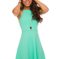 Grace Kelly Dress - Mint