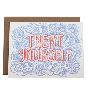 Treat Yourself Card