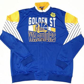 Golden State Warriors Zipway Full Zip Track Jacket w/ Priority Shipping