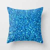 Reflections on the Bottom Throw Pillow by Lena Photo Art