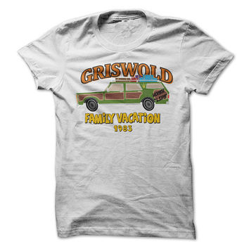 Family Vaction Tshirt Griswold Tee Shirt Funny Shirt Gift Mens Womens Unisex Tee 80's Retro