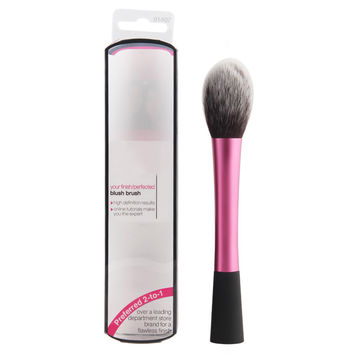 1pcs\set gorgeous blusher brushes french rose makeup brushes tool tapered blush make up brush with box cosmetic tools for girls
