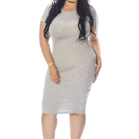 Not So Basic Plus Size Bodycon Dress