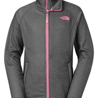 The North Face Girl's 'Agave' Hardface Fleece Jacket,