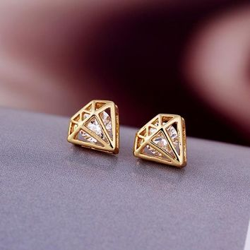 Cute Diamond Studs