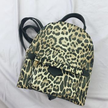 Casual Hang Leopard Backpack