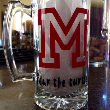 Personalized College Beer Mug